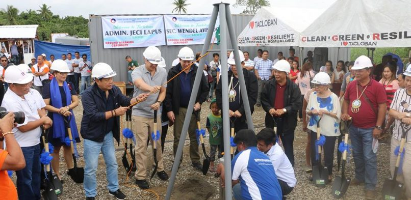 LMWD, LWUA break ground for Water Supply System Project in North Resettlement Sites