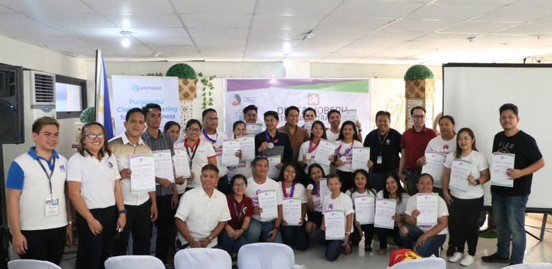 25 Taclobanons complete digital jobs training program of DICT