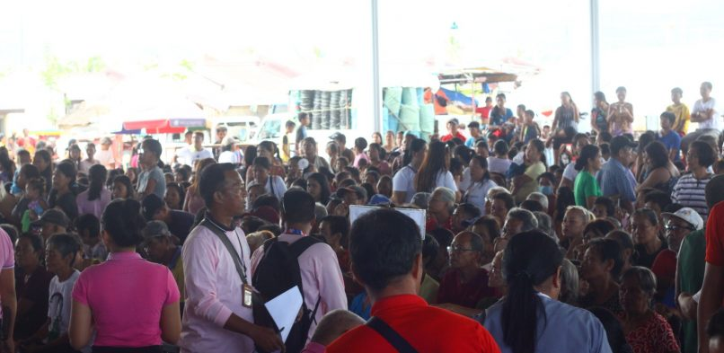City Government of Tacloban organized a Grand Barangayan