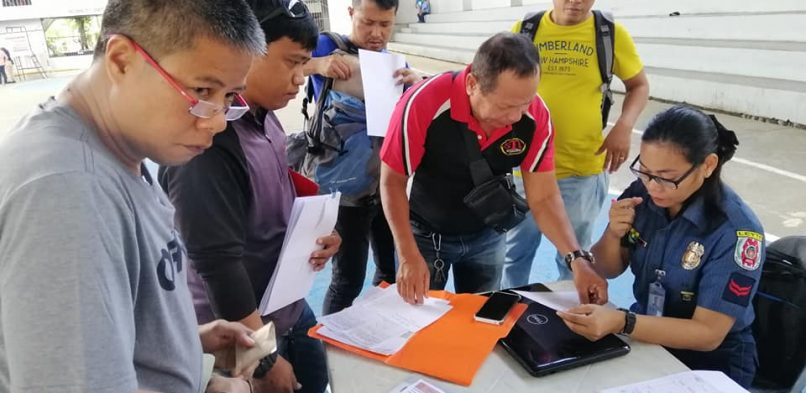 Gun licensing caravan opens in Tacloban