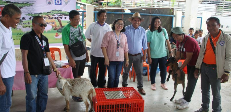 City Gov't, DA turn-over agri needs to Tacloban North farmers