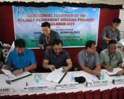 NHA TURNS OVER HOUSING PROJECTS TO LGU TACLOBAN
