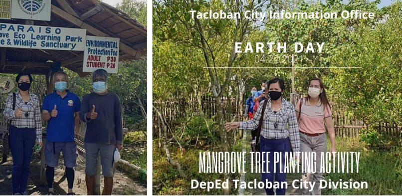 Tacloban City DepEd holds mangrove tree planting activity at Paraiso Eco Park
