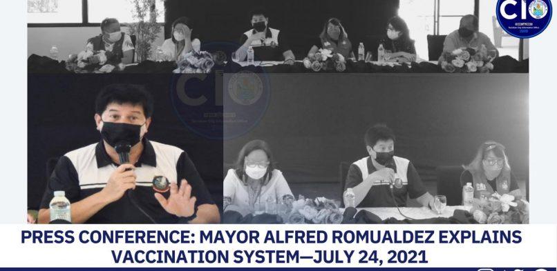 Mayor Romualdez nanawagan hin kooperasyon ha publiko nga magin hapsay an proseso han panbakuna