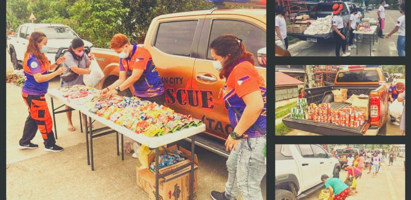 TACRU brings mobile community pantry to Brgy. Paglaum