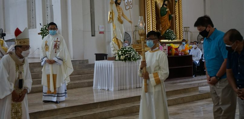 Sto. Niño Parish celebrates a Pontifical Mass and the Blessing of the Jubilee Door in line with the 500 Year Celebration of Christianity
