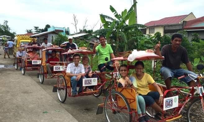 Mga Pedicab magpapapbukod ha PARUMBA 2021