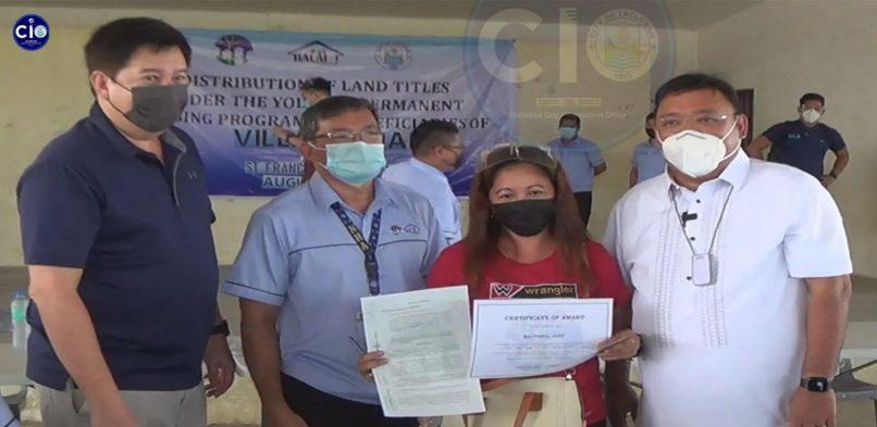 Sec. Roque, Mayor Romualdez nanguna ha panhatag han titulo hin tuna