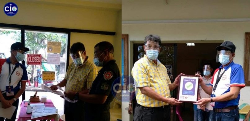 Brgy. 72 Multi-Purpose Hall is the first Safety Seal Certification Program compliant in the city
